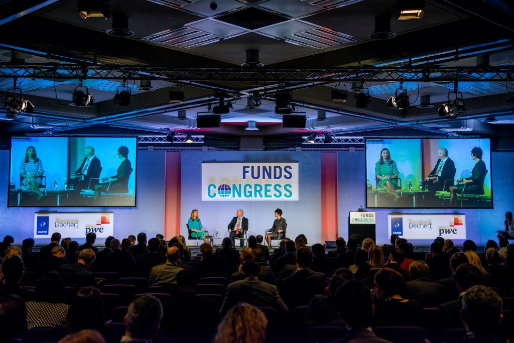 Anne Richards, Funds Congress 2018, Dechert, Carne, Chris Cummings